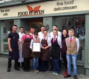 photo of the employee team of Food Heaven in Ennis, Co Clare, Ireland